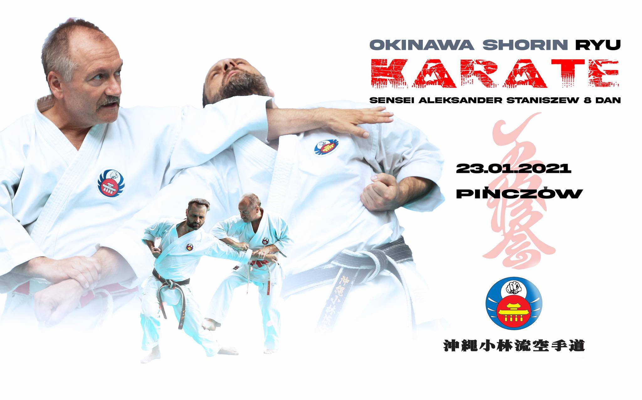 staz karate w Pinczowie